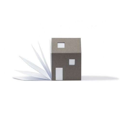 cinqpoints 包浩斯Bauhaus靈感便條紙屋(灰色)