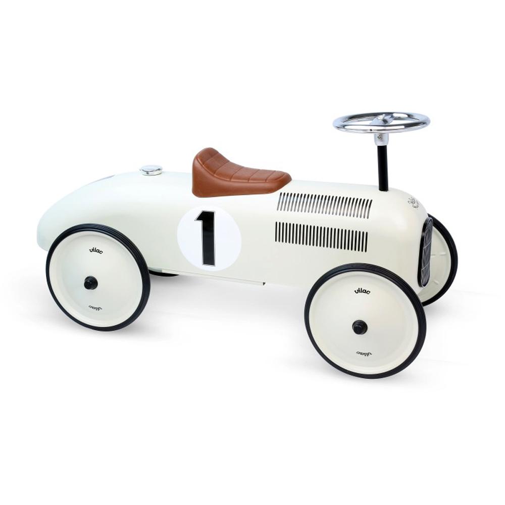 Vilac|滑步老爺車 (白色車身)