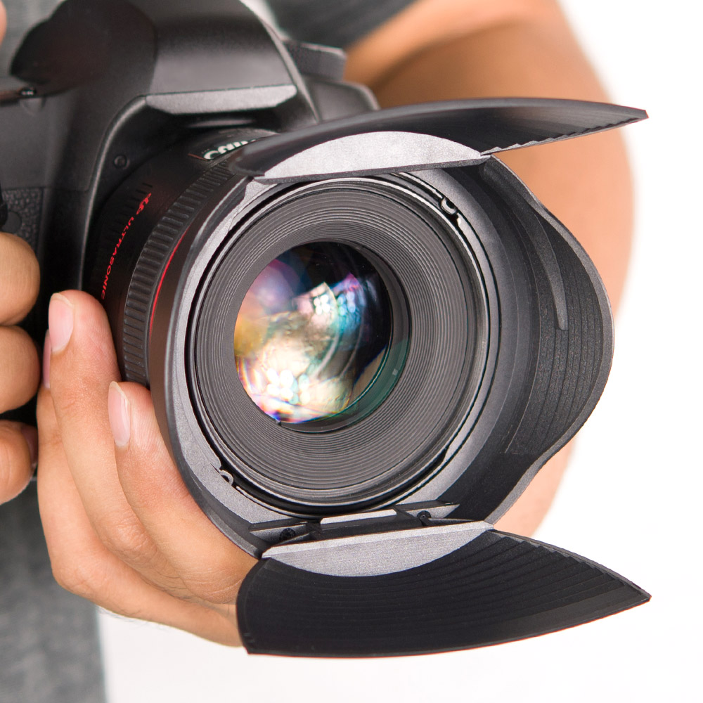 KiWAV|Hoocap遮光罩鏡頭蓋2合1-通用型R系列. 72/77mm 口徑