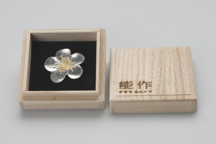 (複製)能作 純錫胸花 (向日葵)