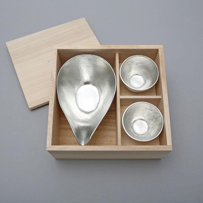 (複製)能作|純錫酒杯+純錫金箔酒杯組