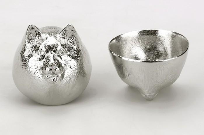 純錫生肖造型杯 (狗)