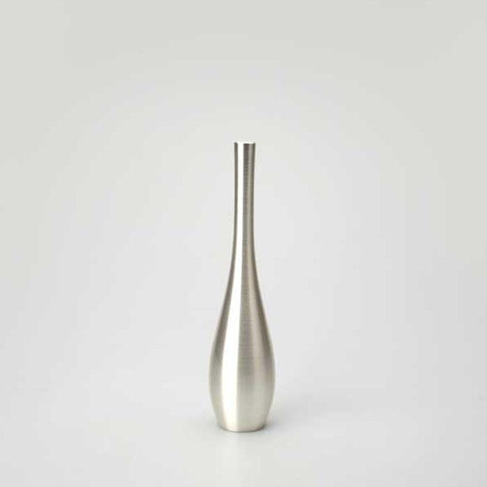 能作|銀彩黃銅花瓶(S)