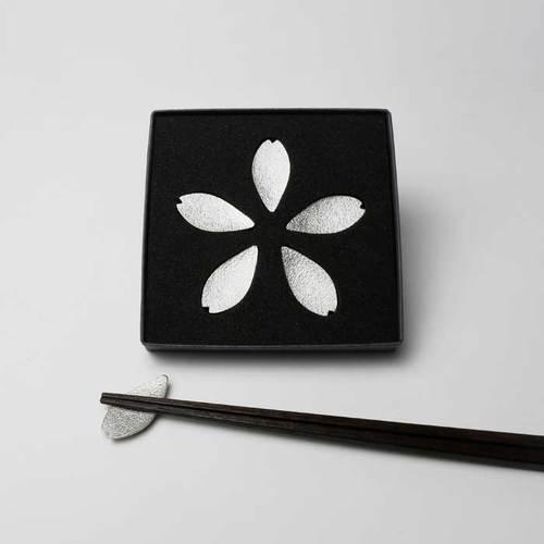 能作|櫻花花瓣筷架組 - 五入