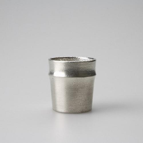 能作|純錫竹筒杯
