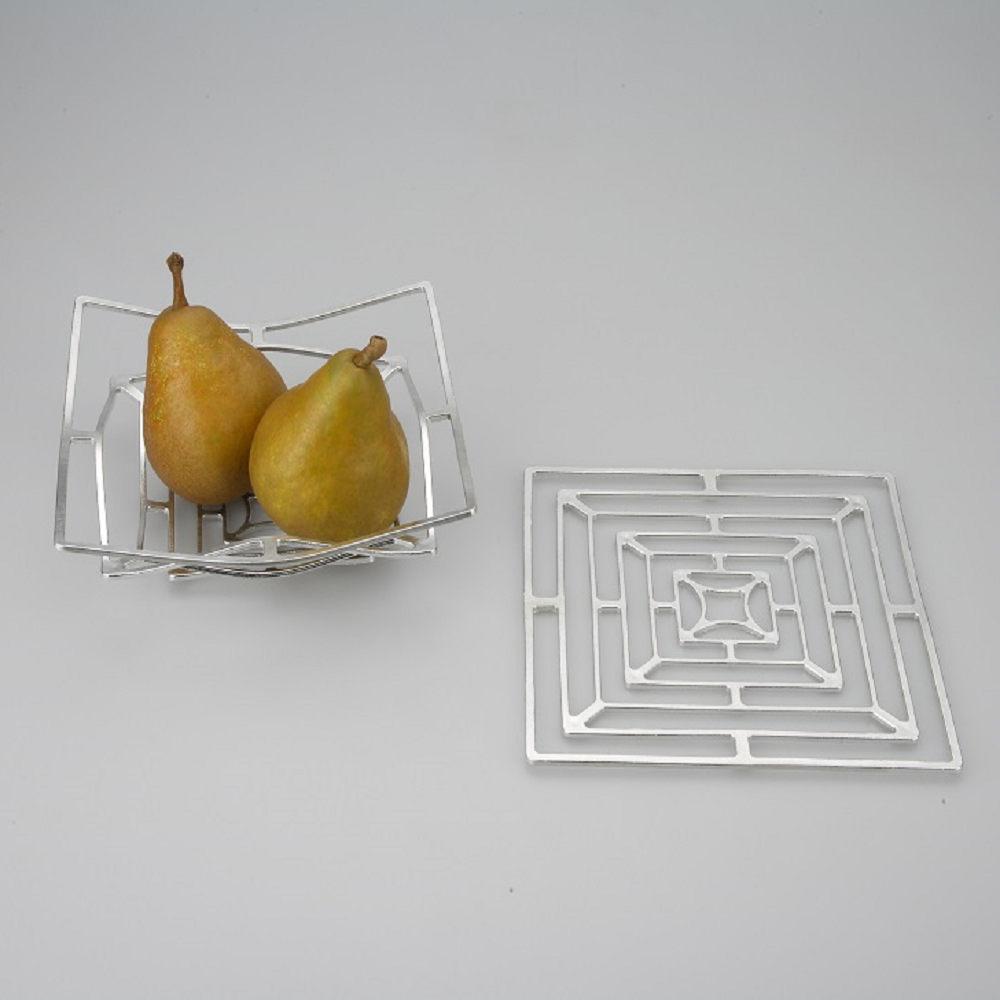 能作|純錫魔術置物籃(方形 M)