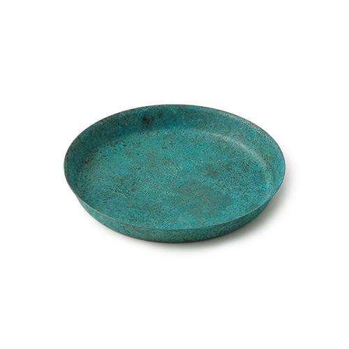 折井 Orii|tone圓滿銅彩盤-藍銅(S)