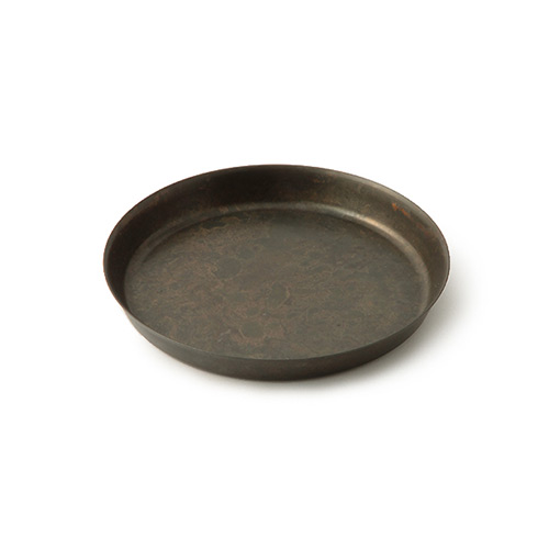 折井 Orii tone圓滿銅彩盤-黑銅(S)