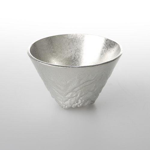 能作 純錫立山造型杯(L)