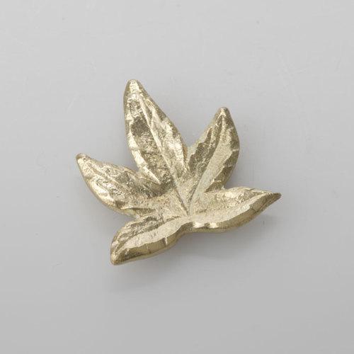 能作|黃銅楓葉筷架