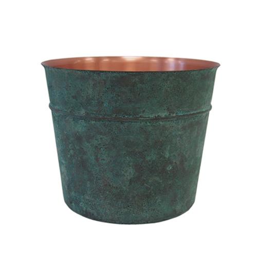 折井 Orii tone銅彩置物筒-銅綠(M)