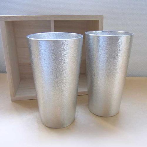 能作|經典純錫杯木盒組
