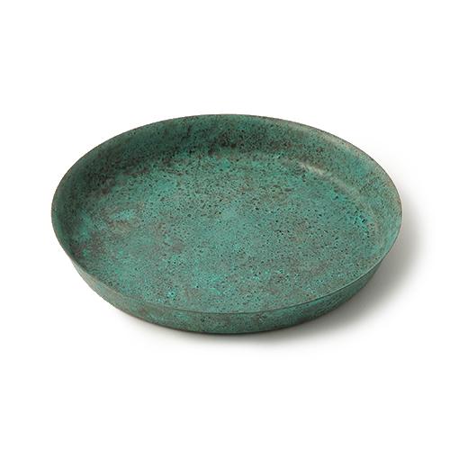 折井 Orii|tone圓滿銅彩盤-銅綠(M)