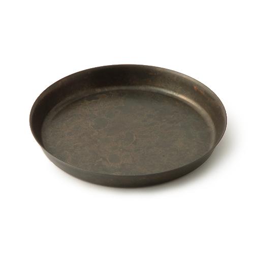 折井 Orii tone圓滿銅彩盤- 黑銅(M)