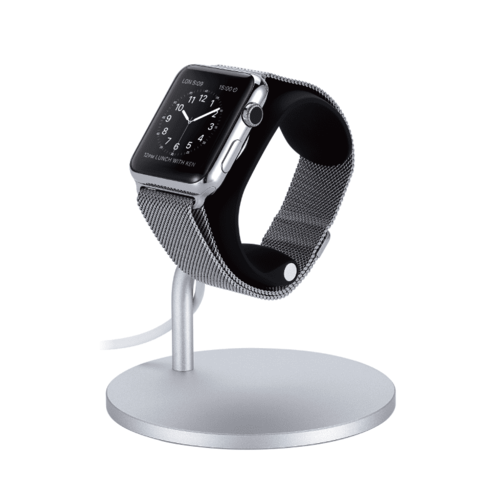 Just Mobile|LoungeDock™  北歐設計風 可調式Apple Watch 充電座ST-120