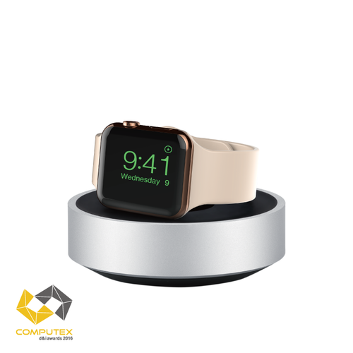 Just Mobile|HoverDock™ 鋁質 Apple Watch 極簡立架 ST-368