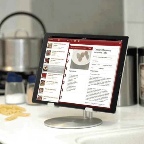 Just Mobile UpStand™ 鋁質iPad美感立架 ST-818