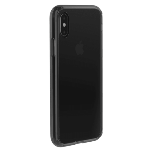 Just Mobile | TENC™ Air 國王新衣防摔氣墊殼- iPhone XS/X  (5.8) 透黑 PC-558CB
