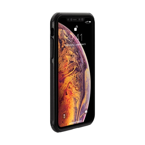 Just Mobile|Quattro™ Air 坦克防摔氣墊殼-iPhone XS / X (5.8) - 消光黑 PC-388BK