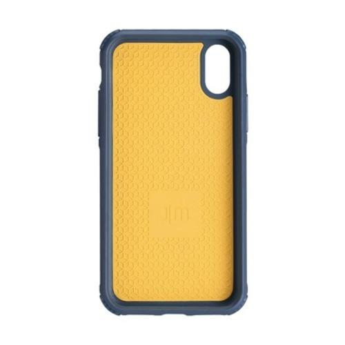 Just Mobile|Quattro™ Air 坦克防摔氣墊殼-iPhone XS / X (5.8) - 紳士藍 PC-388BL