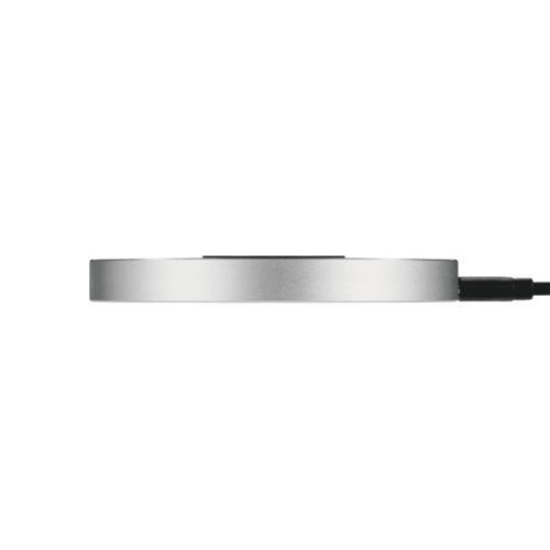 Just Mobile   鋁質快充無線充電盤(最大10w / 支援蘋果快充 7.5 W) 含QC 3.0 插頭 全配版