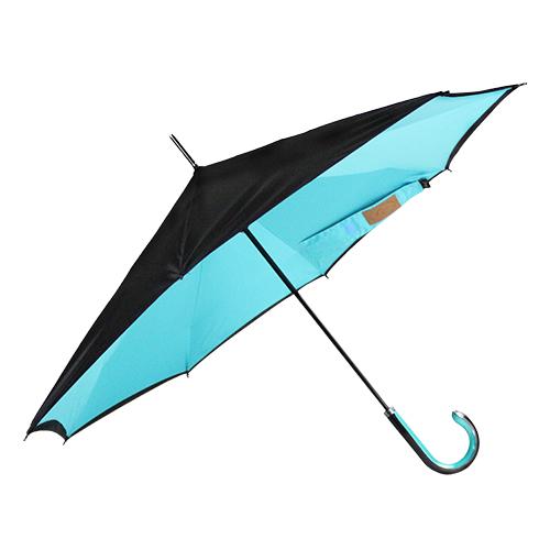 Carry|都會款反向傘(青色)