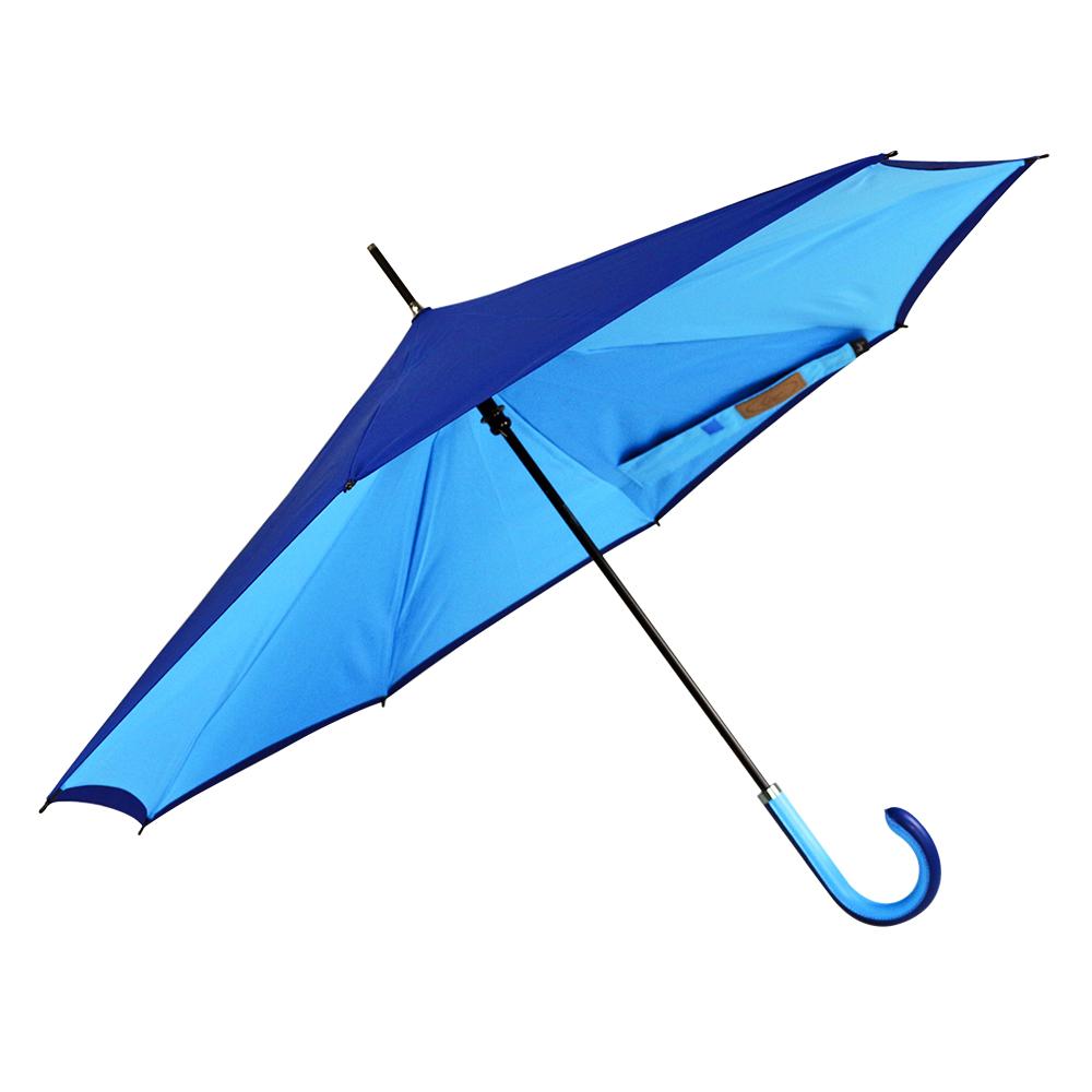 Carry|都會款反向傘(山色藍)