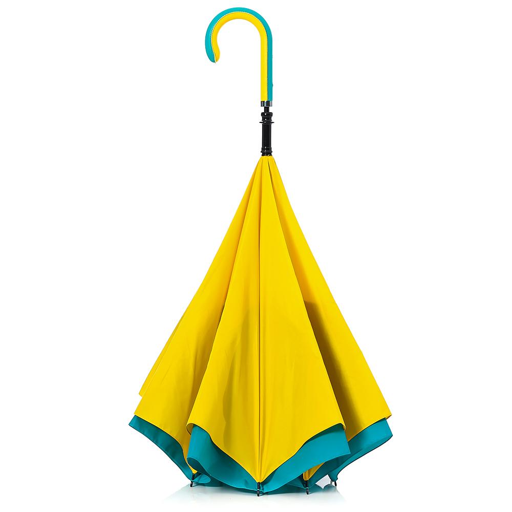 Carry 都會款反向傘(湖水綠)