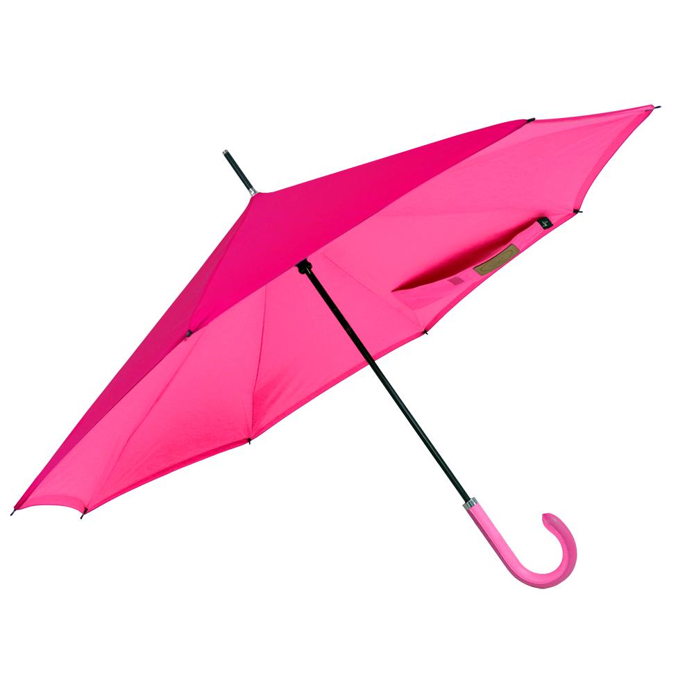 Carry 都會款反向傘(蜜桃紫)