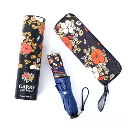 Carry Moose超輕碳纖三折傘 - 花漾派對