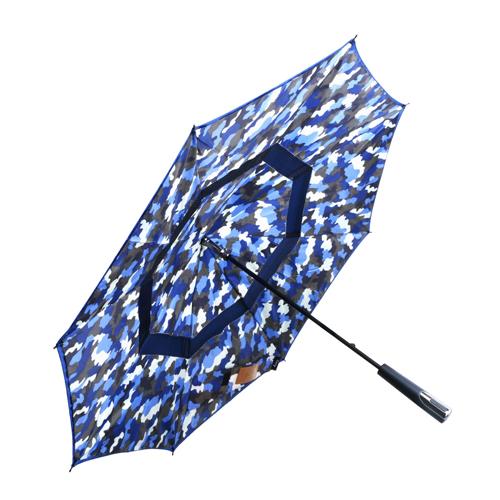 Carry|戰地迷彩反向傘 - 旅行者