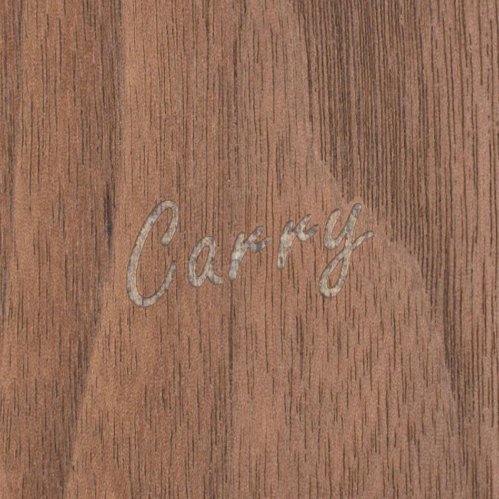 Carry|RealWood 純木手機殼 – 胡桃木 ( for iPhone X )