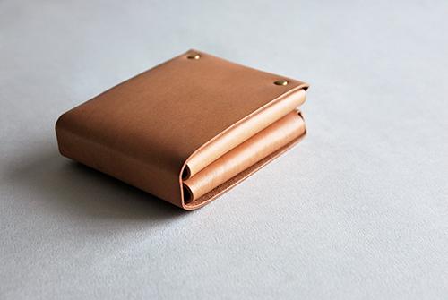 本相造物所 | 原創者系列 - 方塊厚短夾(棕)