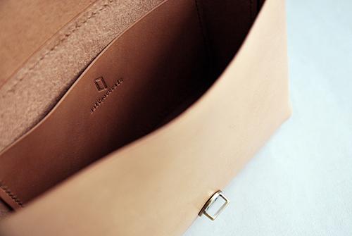 本相造物所 | 原創者系列 - 極簡小方包(棕)