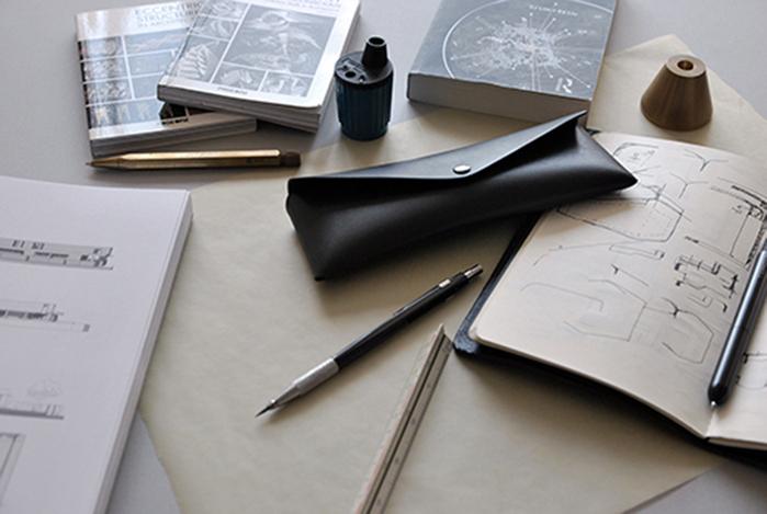 本相造物所 | 設計師系列 - 極簡小筆袋(黑)