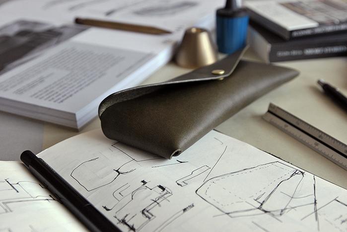 本相造物所 | 設計師系列 - 極簡小筆袋(橄欖綠)