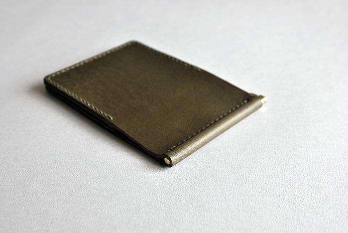 本相造物所|原創者系列-經典鈔票夾(橄欖綠)