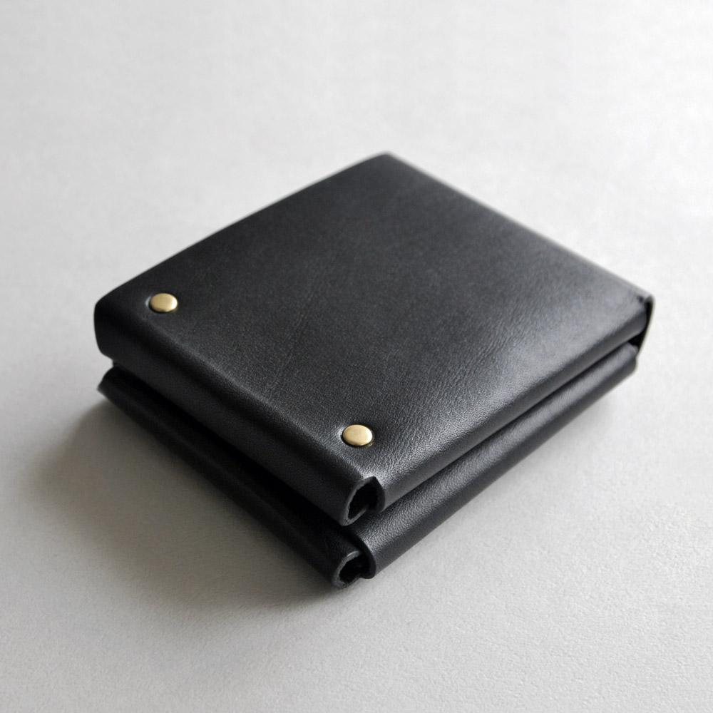 本相造物所|原創者系列-方塊厚短夾(黑)