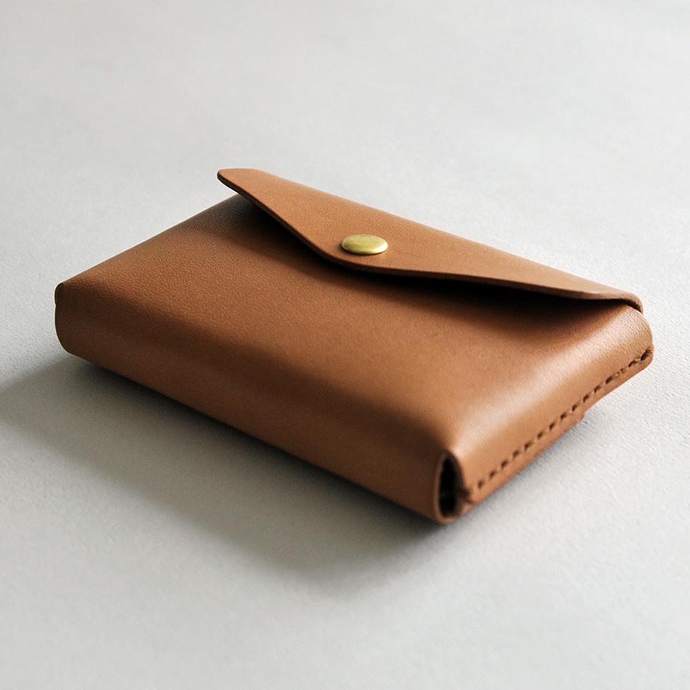 本相造物所 | 原創者系列 - 合手名片夾(棕)