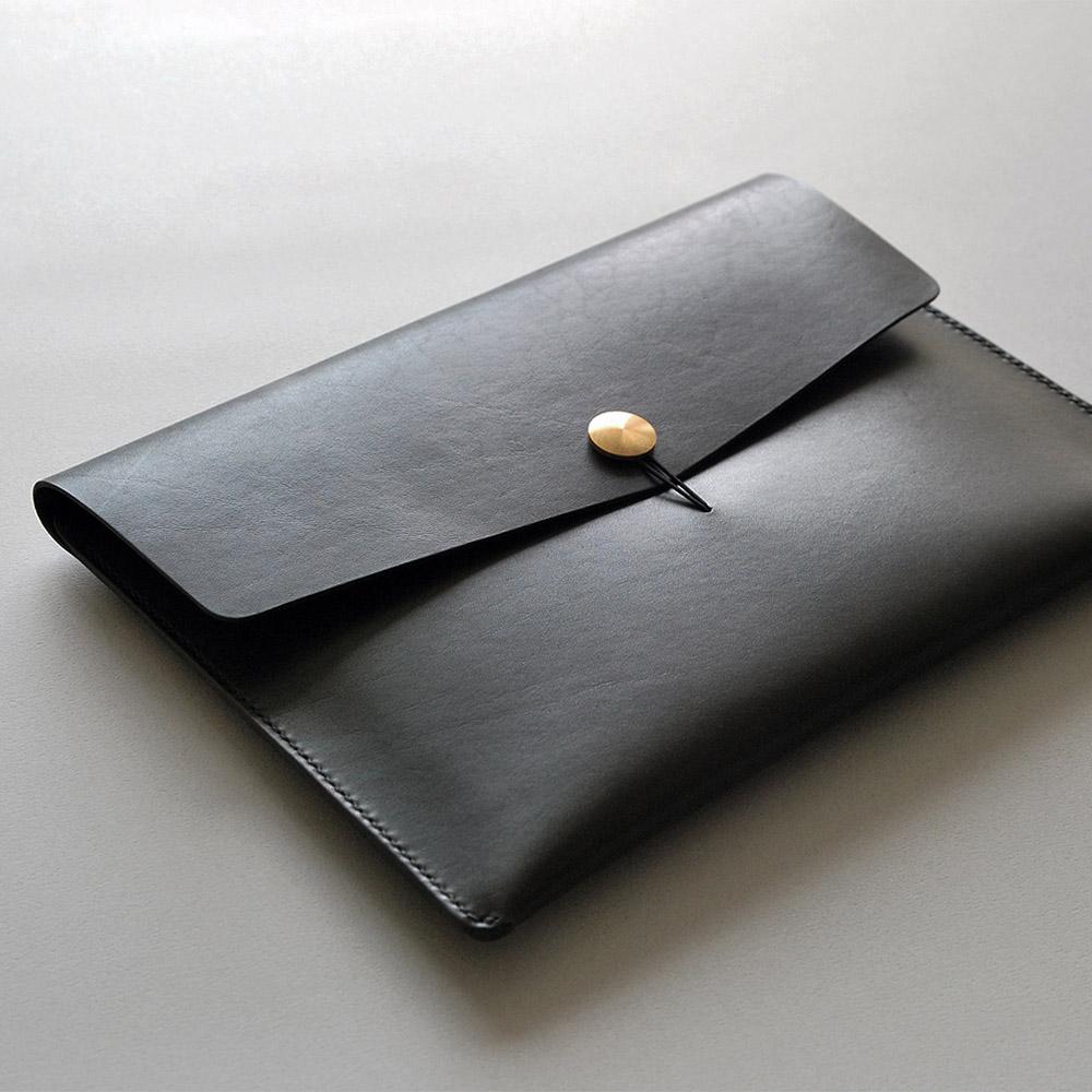 本相造物所 | 原創者系列 - 質人手拿包(黑)