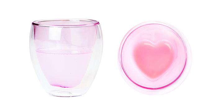 好玻 GOODGLAS|心型雙層玻璃杯
