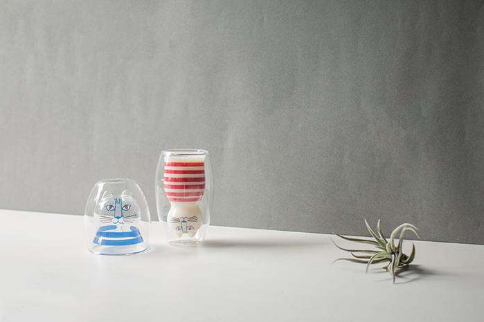 (複製)好玻 GOODGLAS|Lisa Larson MIMI雙層杯-藍