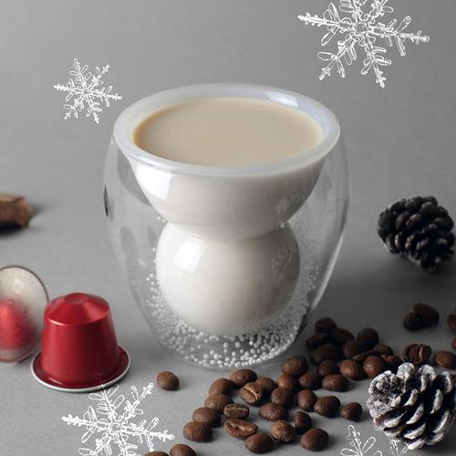 好玻 GOODGLAS|聖誕系列-雪人雙層杯