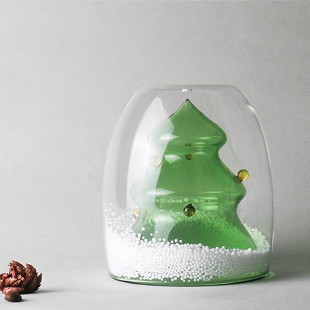好玻GOODGLAS | 聖誕系列-聖誕樹雙層玻璃杯