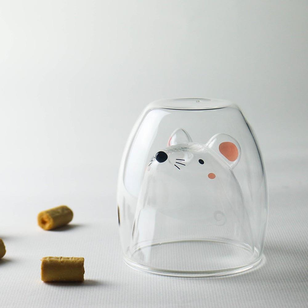 好玻 GOODGLAS 鼠鼠雙層杯