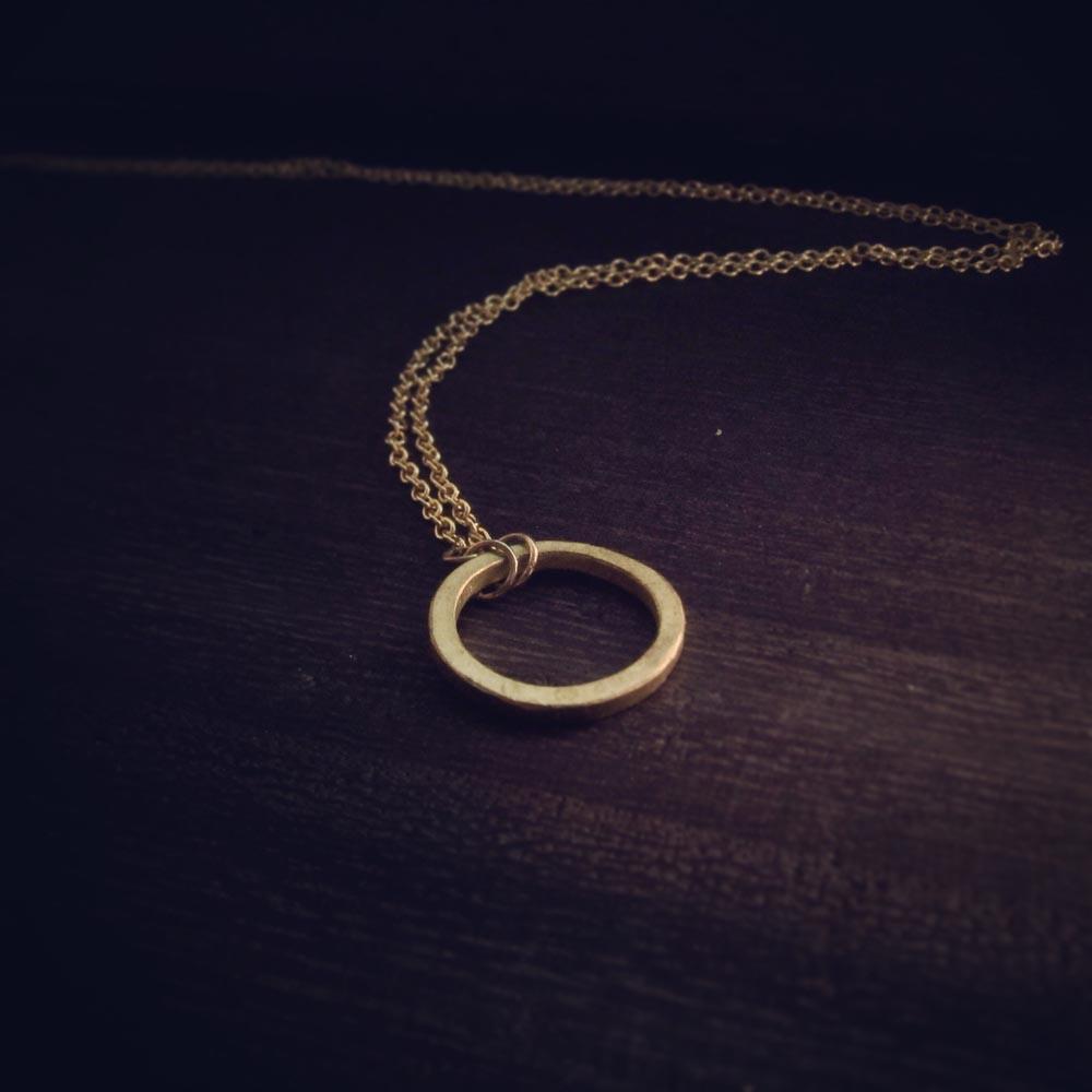 INTZUITION 以覺學|Circular 迴圈 -金工手工黃銅手鍊 Brass Bracelet