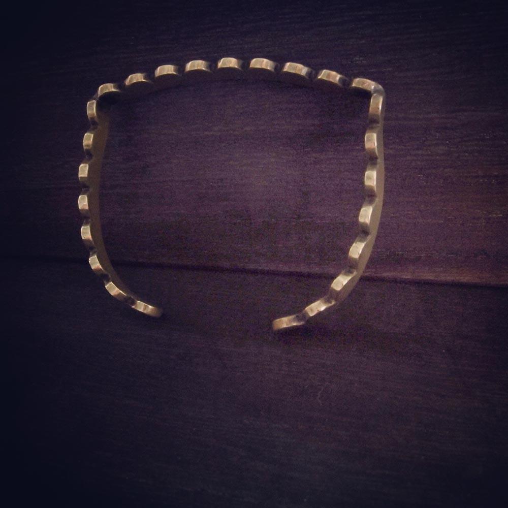 INTZUITION 以覺學|Misstache 鬍子小姐 Brass 金工手工黃銅手環 Bracelet