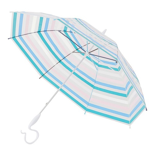 Caetla Evereon|可替換式環保輕量傘 - 條紋藍