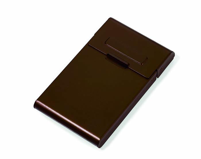 (複製)TROIKA|攜帶站立名片夾(咖啡色)