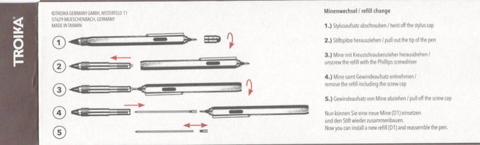 TROIKA|多功能工具筆 CONSTRUCTION PEN (10入)